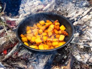 Mango-karamelisert